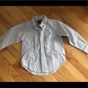 Ralph Lauren boys dress shirt size 3